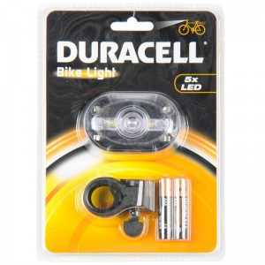 00915 Duracell Front 5 LED - lampka rowerowa