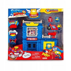 07341 Magicbox - Super Zings, Police Station