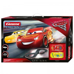 25226 CARRERA Evolution Disney Pixar Cars - Race Day - MEGA WYPRZEDAŻ