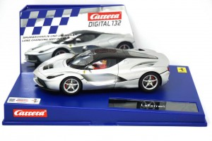 30748 CARRERA Digital 132 - LaFerrari (aluminio opaco)