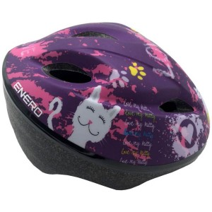 1011066 Kask rowerowy Enero Jr Love Kitty 51-53 cm
