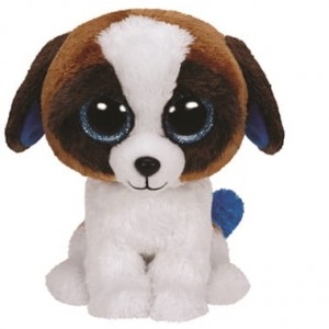 36125 Beanie Boos DUKE - brown white dog